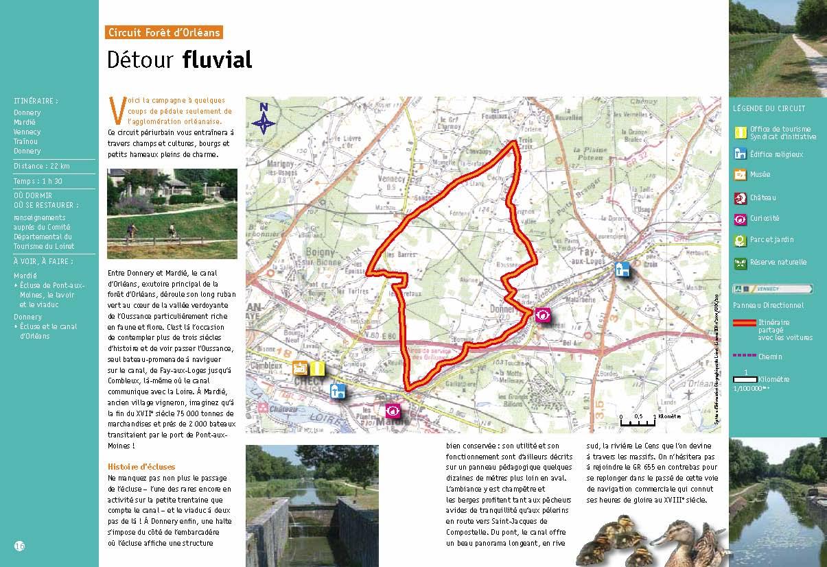 Circuit vélo Détour fluvial