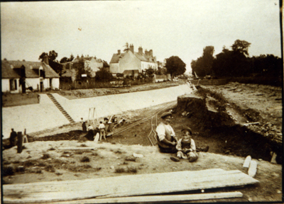 Creusement du nouveau canal